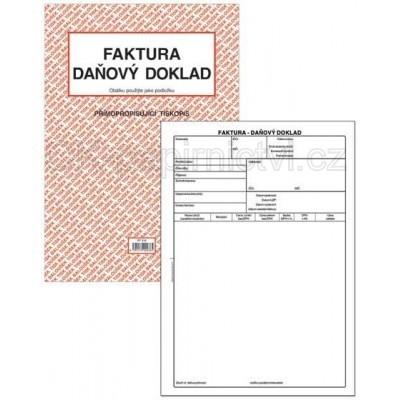 Kancelářské Potřeby Tiskopisy Baloušek Faktura Daňový Doklad