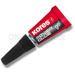 Vteřinové lepidlo Kores Power Glue Gel